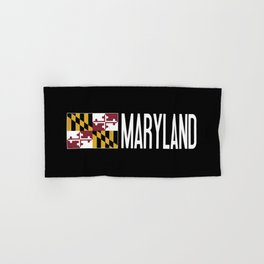 Maryland: Marylander Flag & Maryland Hand & Bath Towel