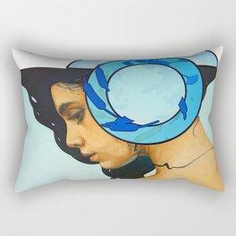 A Moment of Reflection Rectangular Pillow