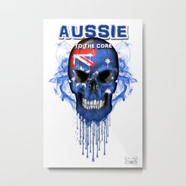 To The Core Collection: Australia Metal Print