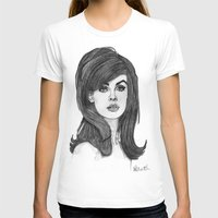 cassandra jean T-shirts featuring Jean Shrimpton by Paul Nelson-Esch Art