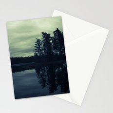 Lake by Night Stationery Cards