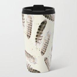 Pheasant Feather 2 Travel Mug