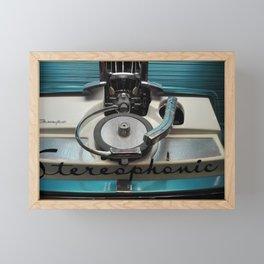 Stereophonic Framed Mini Art Print