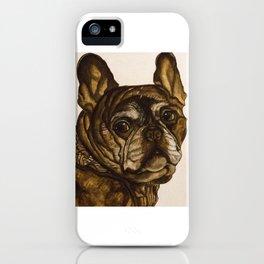 Josie the French Bulldog iPhone Case