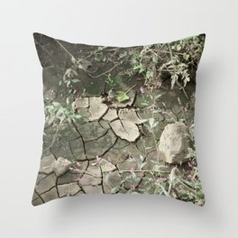 gently gentle #4 Throw Pillow