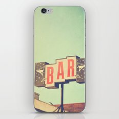 Bar. Los Angeles photograph iPhone & iPod Skin
