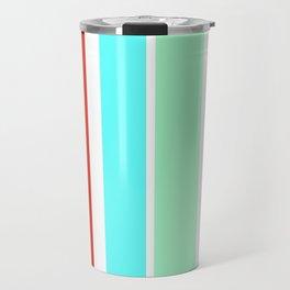 Stripes in colour 2 Travel Mug
