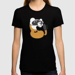 Black Footed Ferret pattern T-shirt