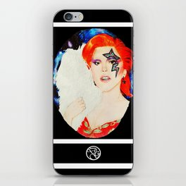 Lady Stardust iPhone Skin