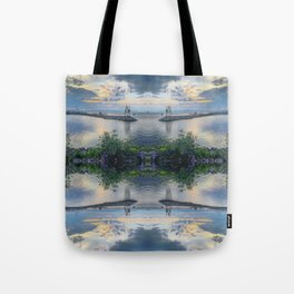When The Sun Sets Tote Bag