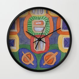 Lying Robot Wall Clock
