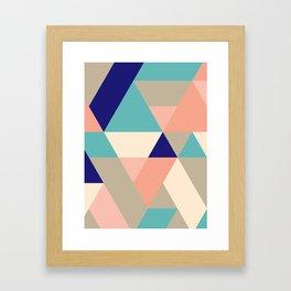 Sand and Shore Framed Art Print