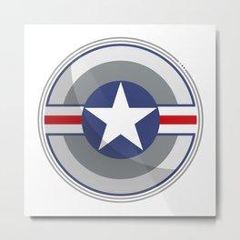 A Fictitious Shield Metal Print