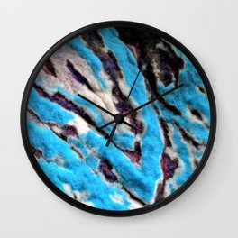 FELT Expressions - Carved Wall Clock