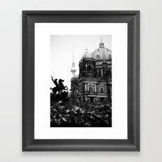 Untitled 26 - Berlin Framed Art Print