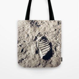 One Giant Leap For Mankind Tote Bag