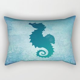 Seahorse of a Different Color ~ Marine Life ~ (Copyright 2015) Rectangular Pillow