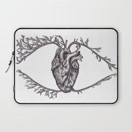 One must look with the heart Laptop Sleeve