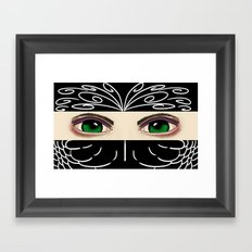 Reverse Masquerade Framed Art Print