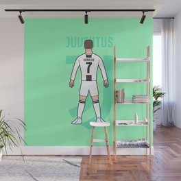 Cristiano arrives in Turin Wall Mural