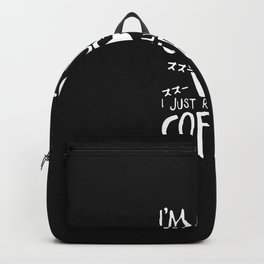 I'm Not a Ghoul Backpack