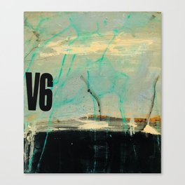 Abstract Landscape - V6 Thunder Canvas Print