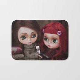 Erregiro Blythe Custom Doll Lisbeth & Edward based on Benjamin Lacombe tale Bath Mat