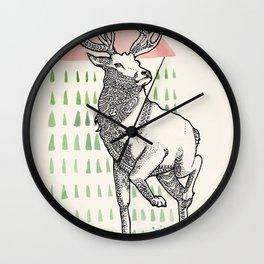 My Deer One Wall Clock
