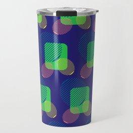 pattern circulos Travel Mug