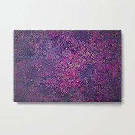 Pink Moss Metal Print