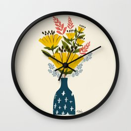 Be Deeply Rooted Wall Clock