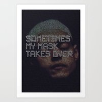 mr.robot_eps2.0_unm4sk-pt2.tc Art Print