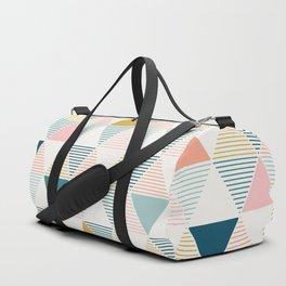 Modern Geometric Duffle Bag