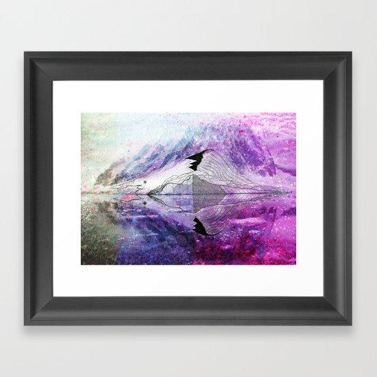 Mirrorself Framed Art Print