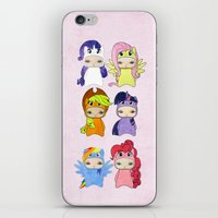 mlp iPhone & iPod Skins featuring A Boy - Little Pony by Christophe Chiozzi