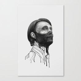 Hannibal Lecter Canvas Print