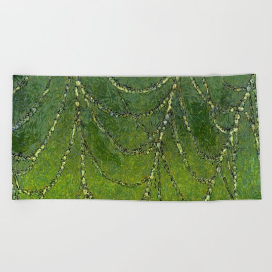 Spiders Web Beach Towel