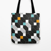 depeche mode Tote Bags featuring Mode duex by blacknote
