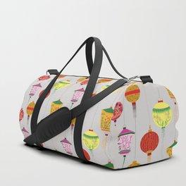 Chinese lampions  Duffle Bag