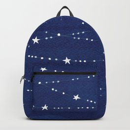 night sky, ocean painting Backpack