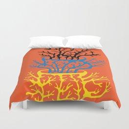 matisse coral Duvet Cover