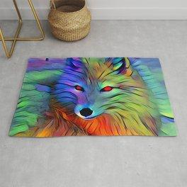 Wild Wolf Rug