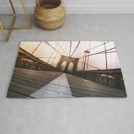 Brooklyn Bridge, New York City Rug