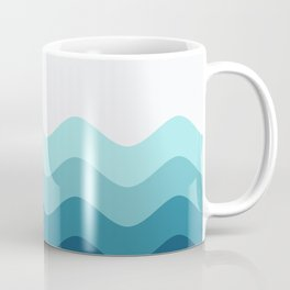 Abstract Landcape 14 Portrait Coffee Mug