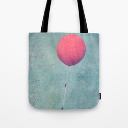 Red Balloon Zoom Tote Bag