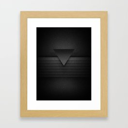 over the wall Framed Art Print