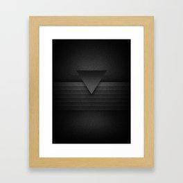 over the wall Framed Art Print