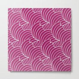 """Koloman (Kolo) Moser """"Textile pattern (Bogen)"""" (2) Metal Print"""
