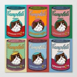 Canned Spaghettio Canvas Print