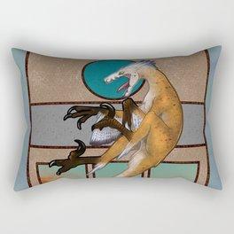 Nouveau - Velociraptor Rectangular Pillow